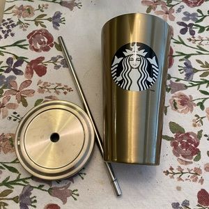 Rare Stainless Steal Starbucks Tumbler